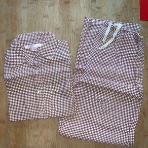 VICTORIA'S SECRET Plaid Flannel 2-PC Pajama Set
